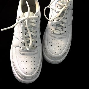 Nike Shoes - Nike Air Force 1 Jester White Sneakers A01220-101